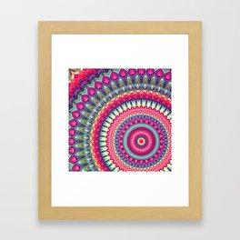 Mandala 143 Framed Art Print