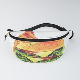 Pin Up Burger Meal Fanny Pack