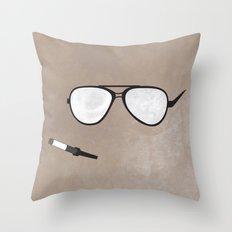 Hunter S. Minimal Throw Pillow