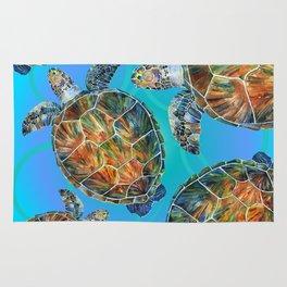 Turtle sea Rug