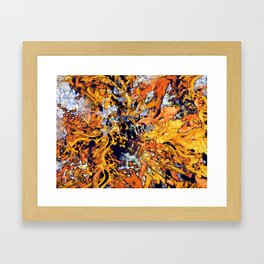 Ice Caps: Prophetic Reality Framed Art Print