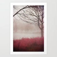 fog Art Prints featuring Fog by KunstFabrik_StaticMovement Manu Jobst