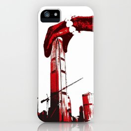 The Hong kong bay giant iPhone Case