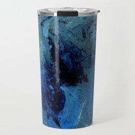 Copper Sands Against Deep Blue Sea Travel Mug