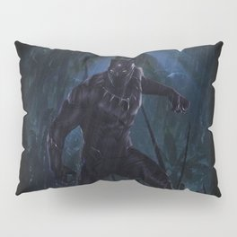 T'Challa , The Black Panther Pillow Sham