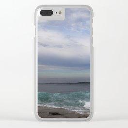Sea Breeze Clear iPhone Case