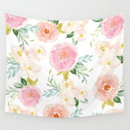 Floral 02 - Medium Flowers Wall Tapestry