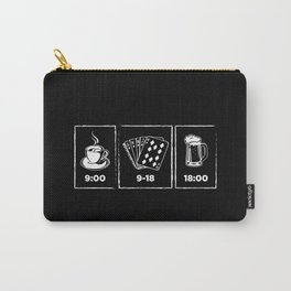 Funny Poker Art Work | All In Gift Idea Carry-All Pouch
