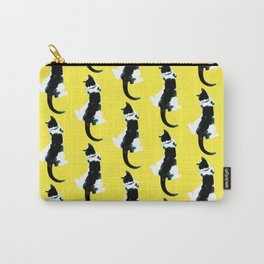 Benji the Cat 1 - Yellow Carry-All Pouch