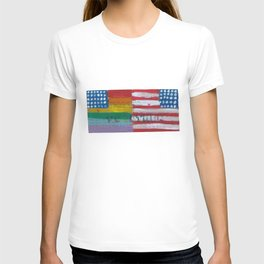 Flags For The Future 4: Power To The People T-shirt