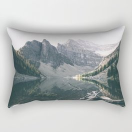 Lake Agnes Rectangular Pillow