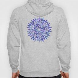 Mandala Vivid Blue Hoody