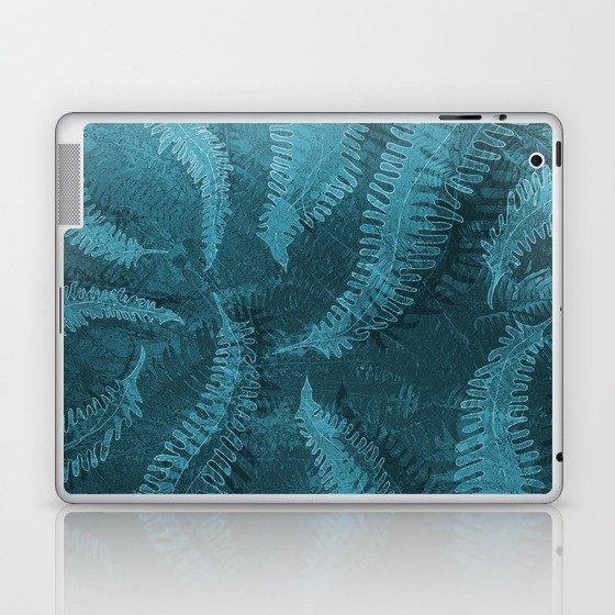 Ferns (light) abstract design Laptop & iPad Skin