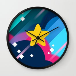 Mr. Universe Wall Clock
