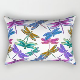 Flight of the Dragonflies Rectangular Pillow