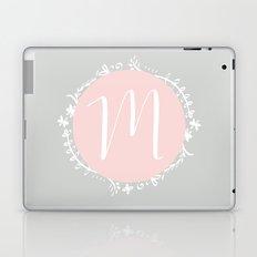 Garland Initial M - Grey Laptop & iPad Skin