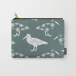White Birds of a Feather Carry-All Pouch
