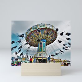 Carousel Mini Art Print