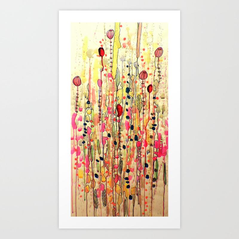 Samsara Art Print By Sylviedemes Society6