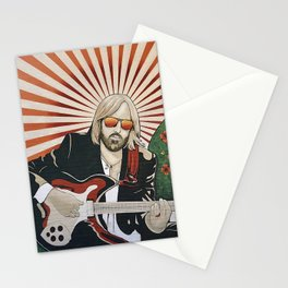 Wildflowers (Tom Petty Tribute Mural, Gainesville) // Music Rock and Roll Guitar Legendary Hall Fame Stationery Cards