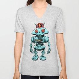 Little Robo Unisex V-Neck