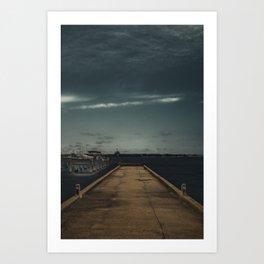 The Drop Off Art Print