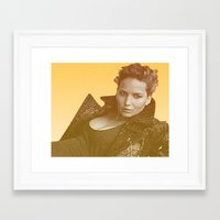 law Framed Art Prints featuring J. LAW. by Hands in the Sky