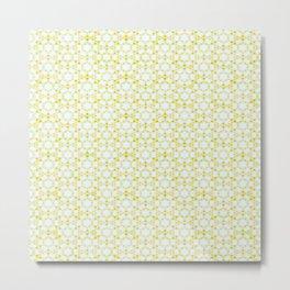 Pattern yelow sunflow Metal Print