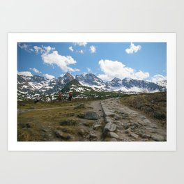 Dolina Gąsienicowa Art Print