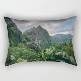 Old Pali Highway  Rectangular Pillow