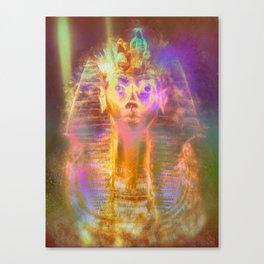 Trippy Tutankhamun Canvas Print