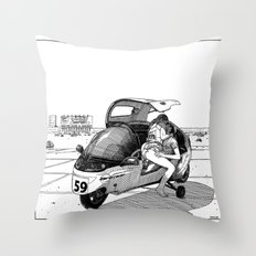 asc 544 - La défaite par forfait (He never made it to Vegas) Throw Pillow
