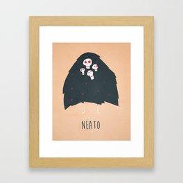 Neato Framed Art Print