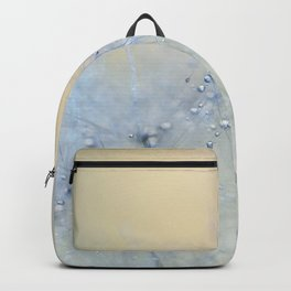 ice blue dandelion Backpack