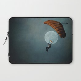 Skydiver's Moon Laptop Sleeve