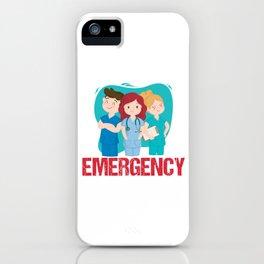 Emergency Medical Technician EMT Doctor Paramedic Nurse EMS Gift iPhone Case