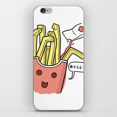 Friends Go Better Together 1/7 - French Fries and Ketchup iPhone & iPod Skin