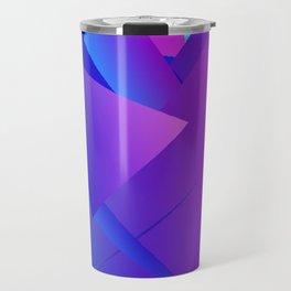 Rhapsody in Blue 4 Travel Mug