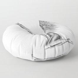 Lonely Angel Floor Pillow