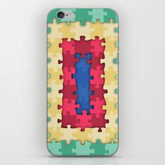 Puzzles iPhone & iPod Skin
