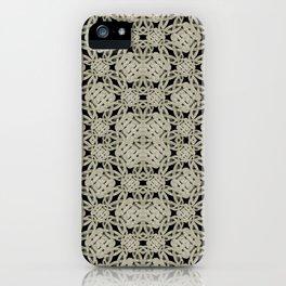 Interlace Arabesque Pattern iPhone Case