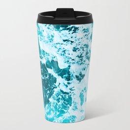 Deep Turquoise Sea - Nature Photography Travel Mug