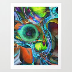 Fruit Still Life Art Print