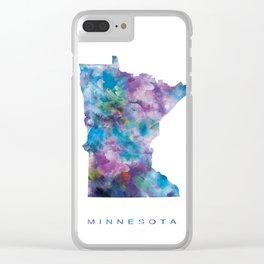 Minnesota Clear iPhone Case