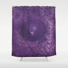Purple Drop Shower Curtain