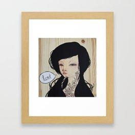 Trifecta - Land Framed Art Print