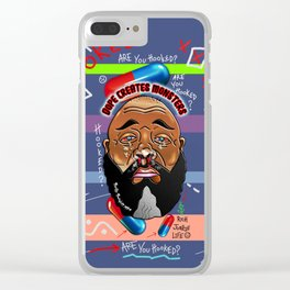 Dope Creates Monsters Fully Loaded Clear iPhone Case