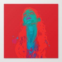 I Sea Red Canvas Print