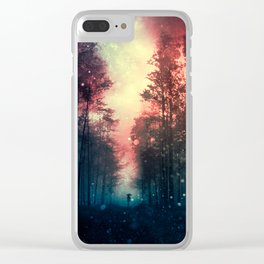 Magical Forest II Clear iPhone Case