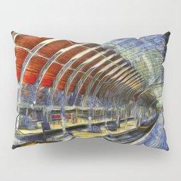 Paddington Railway Station Art Pillow Sham